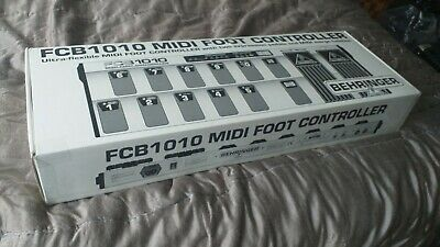Behringer Midi Foot Controller FCB1010 Barely Used In Box Perfect No Kettle Lead • 36.36£