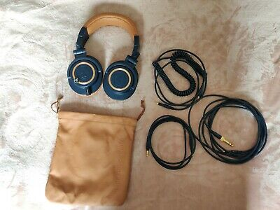 Audio Technica Ath-m50x Limited Edition Blue And Brown • 81£