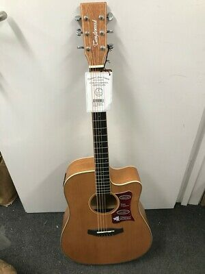 Tanglewood Winterleaf TW10E Electro Acoustic Guitar Dreadnought Cutaway NEW • 349.99£