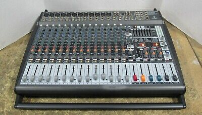 Behringer Europower PMP6000 1600W 20-Channel Powered Mixer Audio Mixing Board • 230.83£