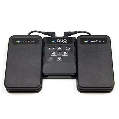 AirTurn Duo 200 Bluetooth Foot Pedal Page Turn For IPad And Tablet ATDUO200 • 89.95£