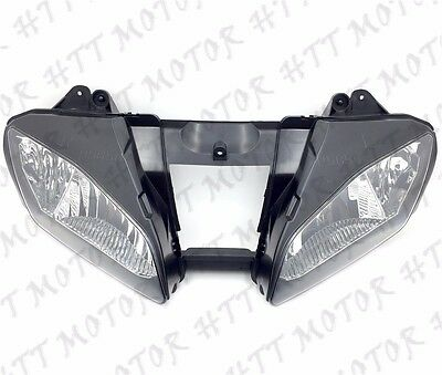 New Front Black Head Light Lamp For 2006-2007 Yamaha YZF-R6 YZFR6 R6 06 07 USA • 88.55£