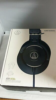 Audio-Technica ATH-M30X Wired Monitor Headphones - Black • 30£