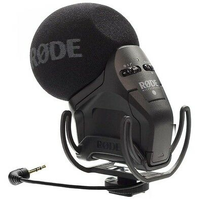 Rode Svmpr Stereo Videomic Pro Rycote Camera Microphone • 193.07£