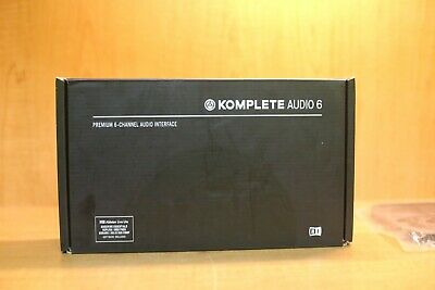 Native Instruments Komplete Audio 6 MK2 Interface NIB • 162.98£