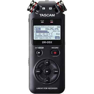 Tascam DR-05X Portable Recorder & USB Audio Interface • 89£