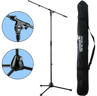K&M 210/2 Microphone Tripod Microphone Stand With Gallows + Keep Drum Carry Bag • 54.46£