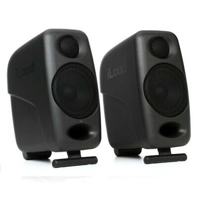 IK MULTIMEDIA ILOUD MICRO MONITOR Ultra-Compact Stereo Bluetooth Monitor Pair • 224.80£