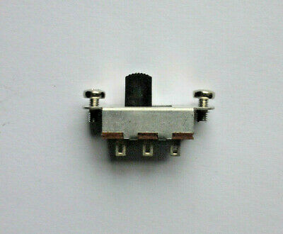 Schiebe-Schalter Switch On-On , 6 Pins, For Jaguar/JAZZMASTER • 9.58£
