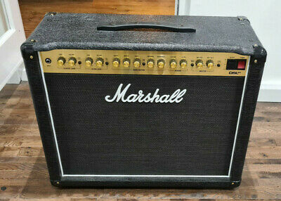Marshall DSL40CR - 1 X 12  Combo 40W Valve Guitar Amplifier With Reverb MINT • 499.95£