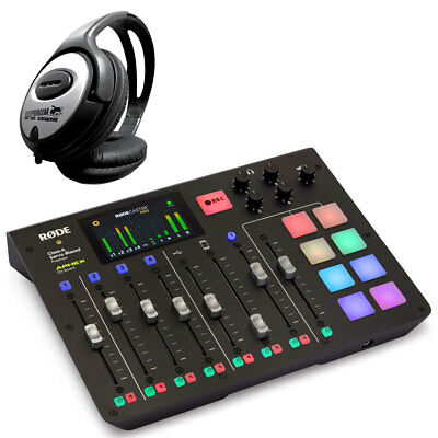 Rode Rodecaster Pro All-in-One Podcast Station + Keepdrum Headphones • 581.83£