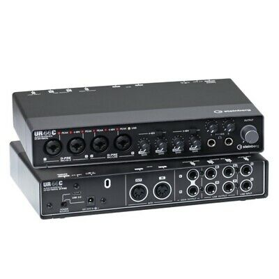 STEINBERG UR44C USB 6x4 Channel Music Production Audio Interface With Software • 257.71£