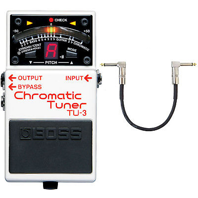 Boss TU-3 Chromatic Tuner + Keepdrum Patchkabel Connection Cable 30cm • 78.43£