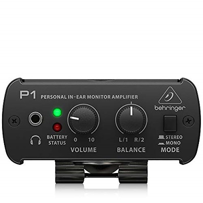 Behringer POWERPLAY P1 Personal In-Ear Monitor Amplifier • 47.85£