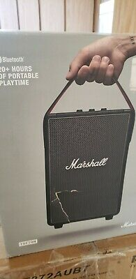 Marshall Tufton Portable Wireless Bluetooth Speaker Black Defect As IS. • 24.14£