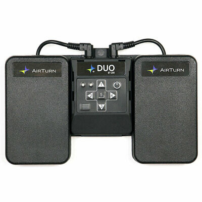 AirTurn DUO BT-200 Multifunktionaler Bluetooth Fußschalter Controller • 76.69£