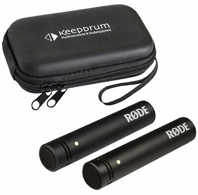 Rode M5 Mp Small Diaphragm Cardioid Omnidirectional Condenser Microphones • 165.56£