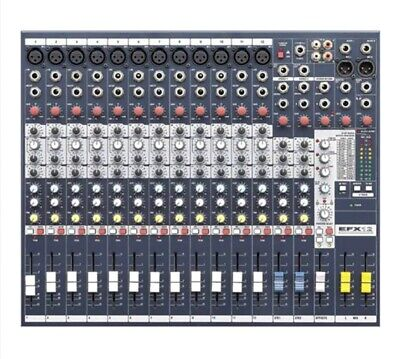 Soundcraft EFX12 Mixing Console - New, Boxed, UK Postage Included • 275£