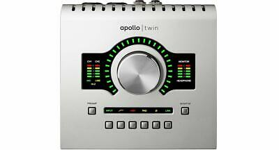New Universal Audio Apollo Twin Duo USB Heritage Edition Desktop 10x6 Interface • 787.84£