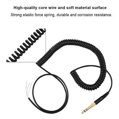 Audio 1m/3.28ft Spring Cable Wire Plug For   DT 990 990 Pro • 5.46£