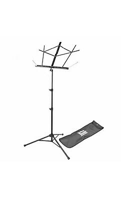 On-Stage SM7122BB Compact Folding Sheet Music Stand With Bag, Black • 10.12£