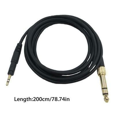 Replacement Cable For Audio-Technica ATH-M50X M40X M60X M70X Headphones 6.35mm • 4.73£