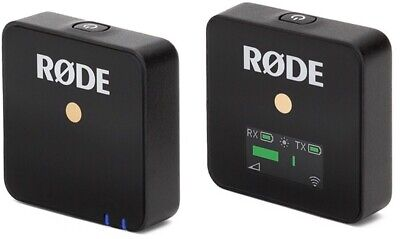 Rode Wireless Go Compact Microphone System With TRS Cable & Charge Cable - Black • 133.33£