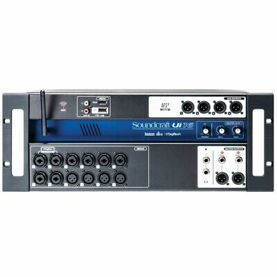 SOUNDCRAFT UI16 Tablet PC Smartphone Controlled Digital WiFi Mixer Stagebox • 321.90£