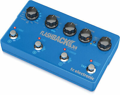 Tc Electronic Flashback 2 X4 Delay Guitar Flagship Delay Pedal TC222 • 272£