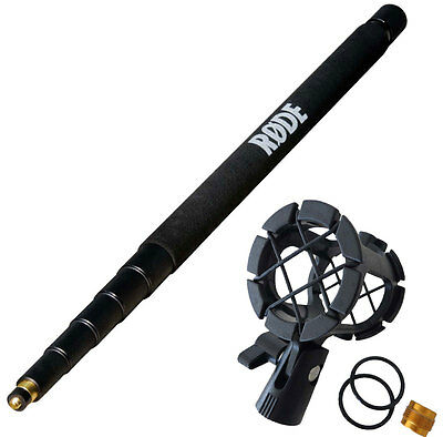 Rode Boompole 3M Boom + Keepdrum PCMH1 Spider Elastic Mount • 104.06£