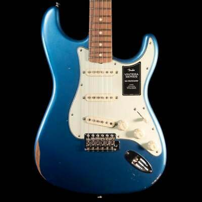 Fender Limited Edition Vintera Road Worn '60s Stratocaster in Lake Placid Blue