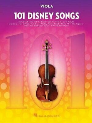 101 Disney Songs For Viola For Viola 9781540002419 | Brand New • 12.31£