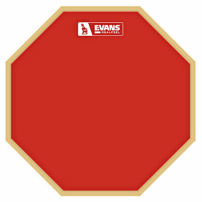 Evans RF-12G-RED Realfeel Practice Pad Uebungspad 12 Inches Red Edition • 32.76£
