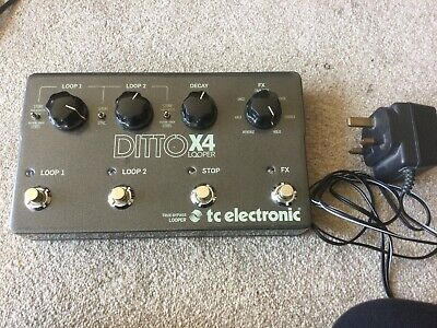 TC Ditto X4 Looper • 135£