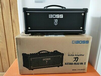 Boss Katana 100w Head Mkii Mark 2 • 290£