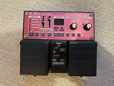 Boss RC-30 Loop Station Dual Track Looper Pedal RC30 Guitar Effects Boxed • 101£