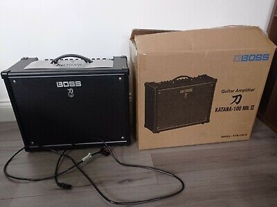 Boss Katana 100 MKII 1x12 Combo Amplifier (used Only For Few Hours) • 230£