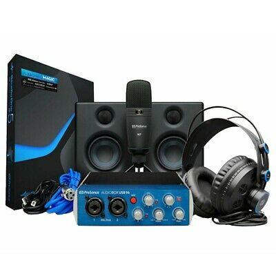 PRESONUS AUDIOBOX 96 STUDIO ULTIMATE DELUXE  Complete Hardware/Software Package • 224.28£