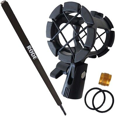 Rode Micro Boompole + Keepdrum PCMH1 Spider Elastic Mount Shock Mount • 56.08£