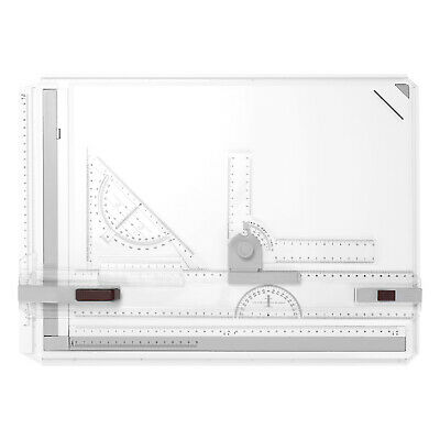 A3 Picture Drawing Board Cartographic Platform With Smooth Guide Rails P2B2 • 32.80£
