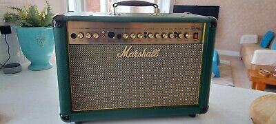 Limited Edition Green Marshall AS50D 50W Acoustic Guitar Amplifier • 4£