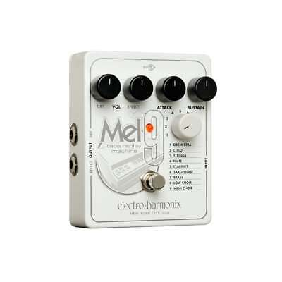 Electro Harmonix MEL9 Tape Replay Machine (Mellotron) Guitar Effects Pedal • 201£