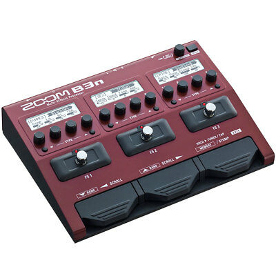 Zoom B3n Multi Effect Unit For Bass • 158.34£