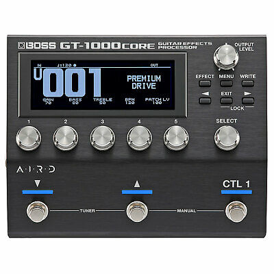 Boss GT-1000 Core Multi Effect Unit Effektprozessor With Interface • 518.03£