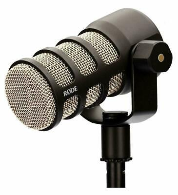 Rode PODMIC Broadcast-Grade Dynamic Microphone for Podcasting Pod Mic Podcast