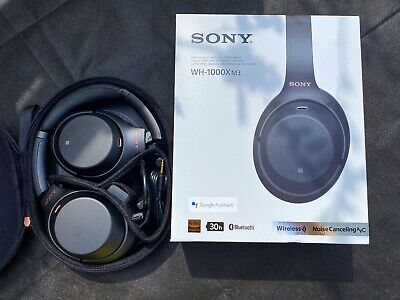 Sony - WH-1000X M3 - Wireless Noise Cancelling Headphones - Boxed - WH-1000XM3 • 56£