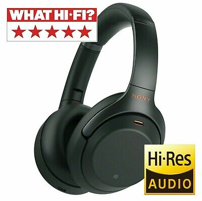 Sony WH1000XM3 Wireless Noise Cancelling Bluetooth | On Ear Headphones - Black • 199£