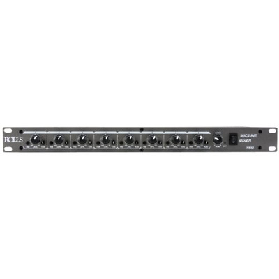 Rolls RM82 8 Channel Mic/Line Mixer • 120.70£