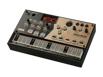 KORG DIGITAL PERCUSSION SYNTHESIZER Volca Drum W/built-in Speakers From Japan • 168.71£