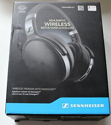 Sennheiser HD 4.50 BTNC  Black Wireless Bluetooth Headphones • 120£